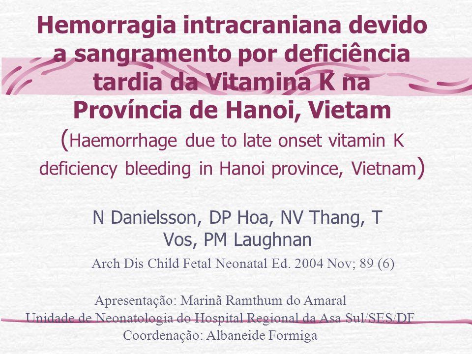 N Danielsson, DP Hoa, NV Thang, T Vos, PM Laughnan