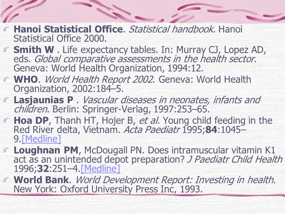 Hanoi Statistical Office. Statistical handbook