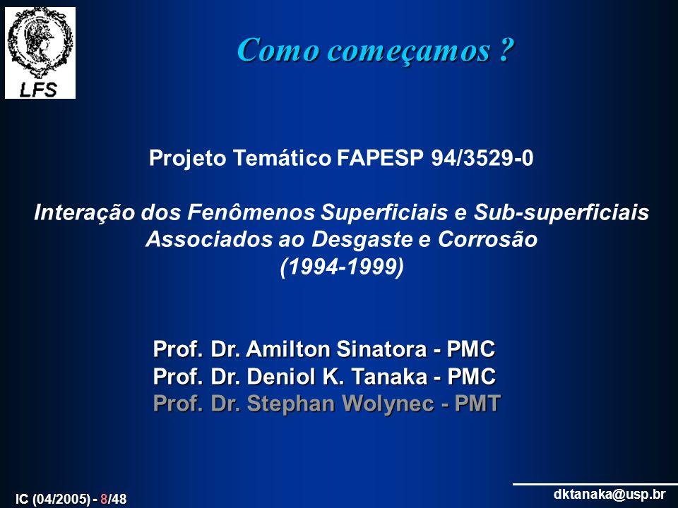Projeto Temático FAPESP 94/3529-0