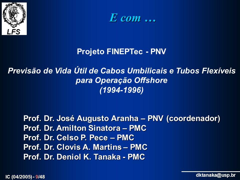 E com … Projeto FINEPTec - PNV
