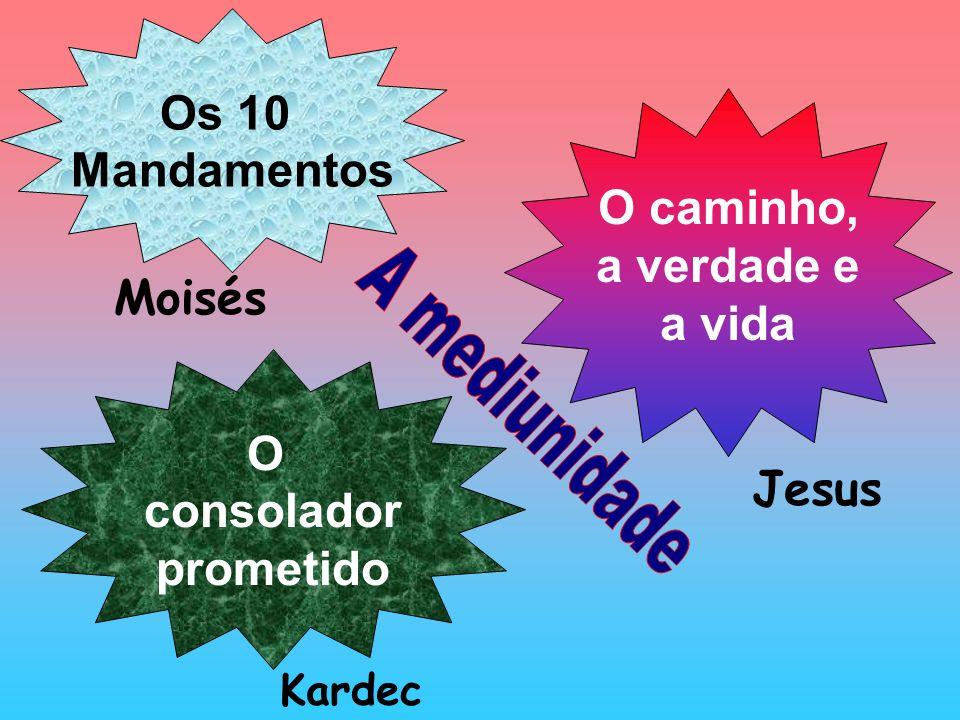 Os 10 Mandamentos O caminho, a verdade e a vida O consolador prometido