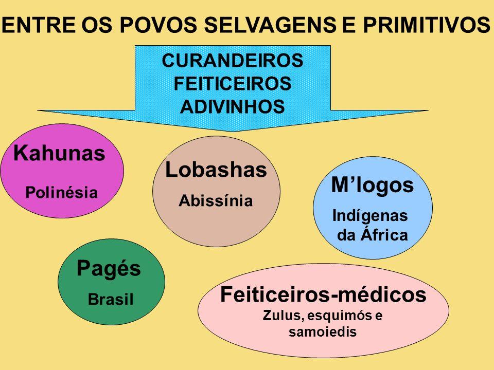 Lobashas M'logos Pagés Feiticeiros-médicos