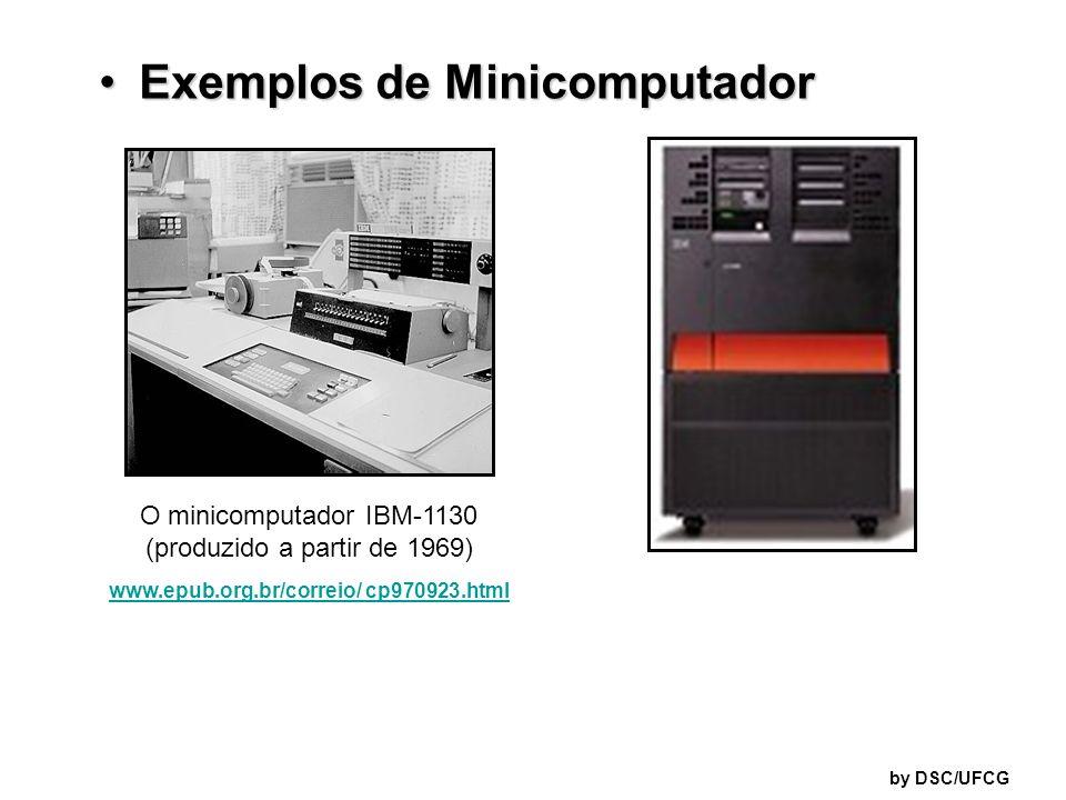 Exemplos de Minicomputador