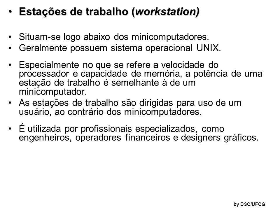 Estações de trabalho (workstation)