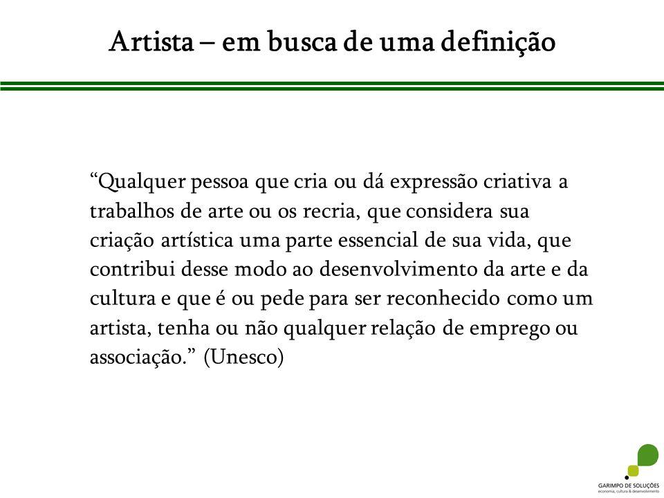 Artista – em busca de uma definição