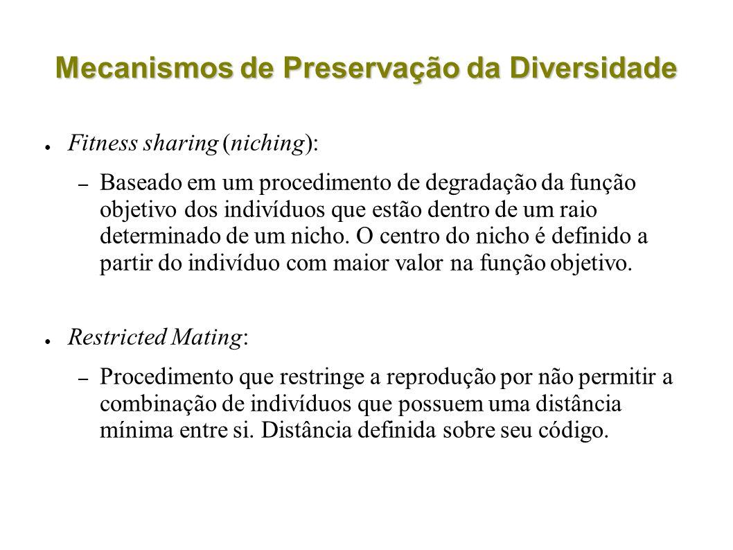 Mecanismos de Preservação da Diversidade