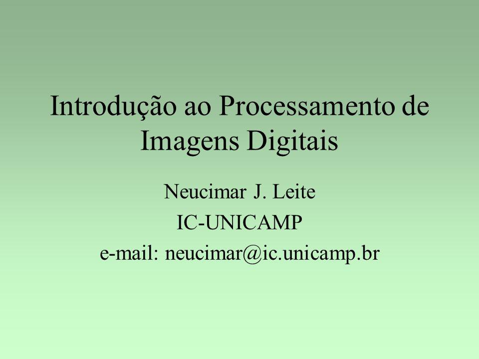 Introdução ao Processamento de Imagens Digitais