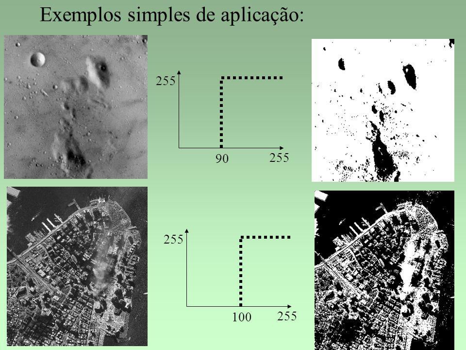 Exemplos simples de aplicação: