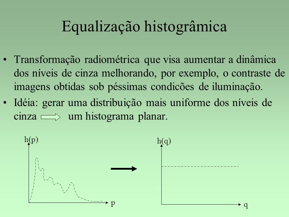 Equalização histogrâmica