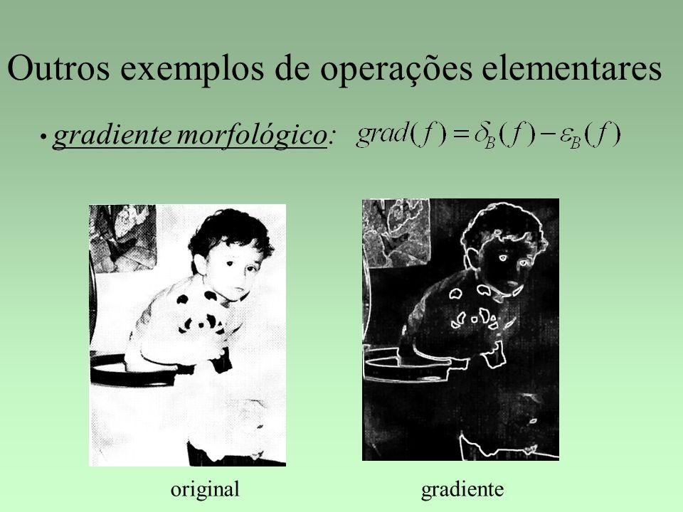 Outros exemplos de operações elementares