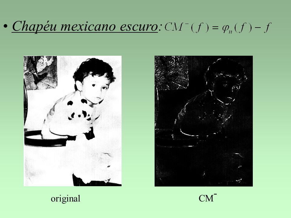 Chapéu mexicano escuro: