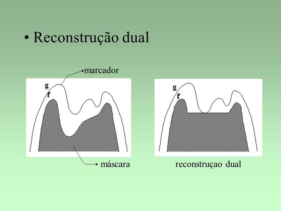 Reconstrução dual marcador máscara reconstruçao dual