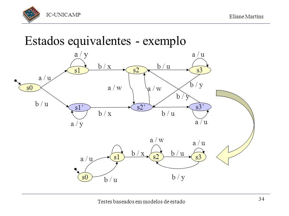 Estados equivalentes - exemplo