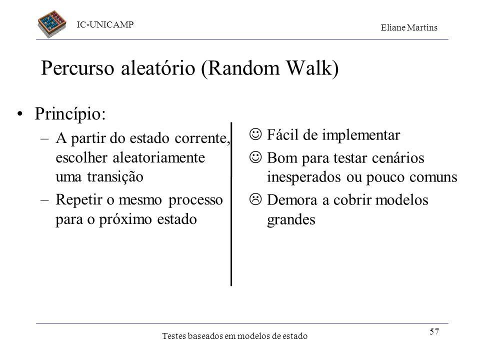 Percurso aleatório (Random Walk)