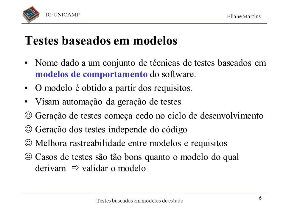 Testes baseados em modelos