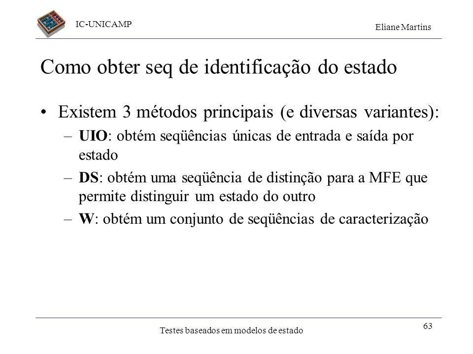 Como obter seq de identificação do estado