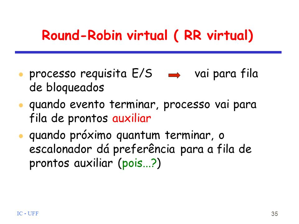 Round-Robin virtual ( RR virtual)