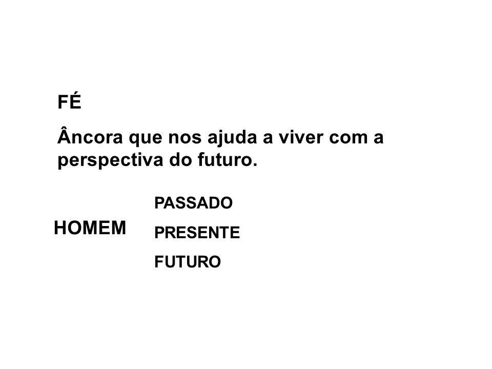 Âncora que nos ajuda a viver com a perspectiva do futuro.