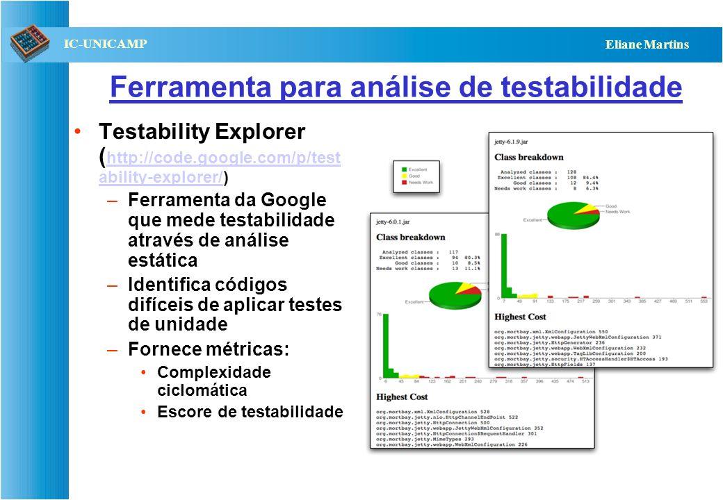 Ferramenta para análise de testabilidade