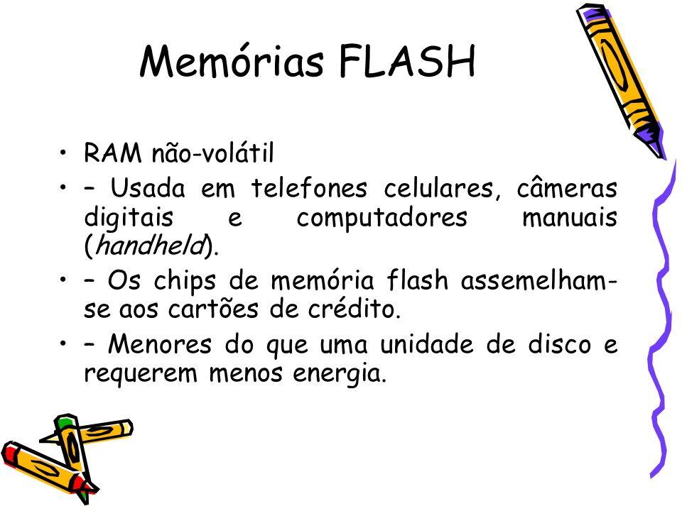 Memórias FLASH RAM não-volátil