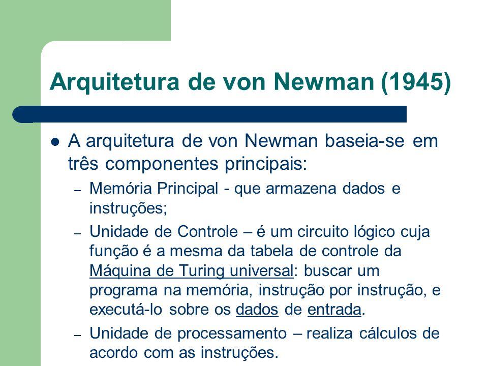 Arquitetura de von Newman (1945)