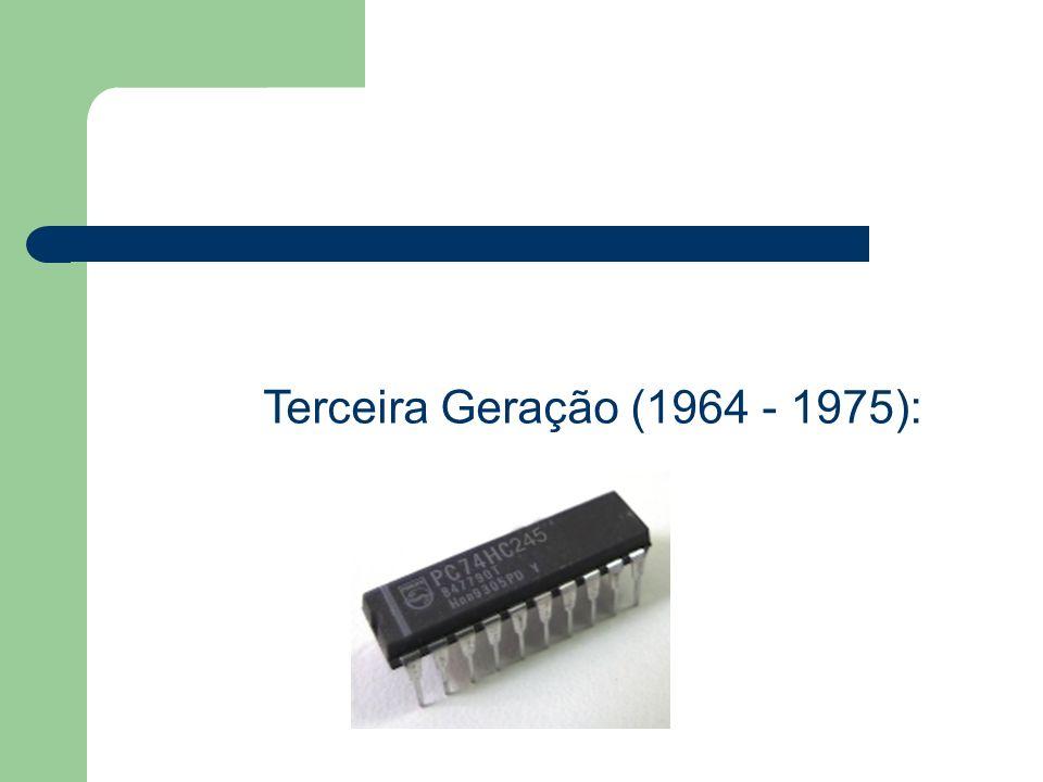 Terceira Geração (1964 - 1975):
