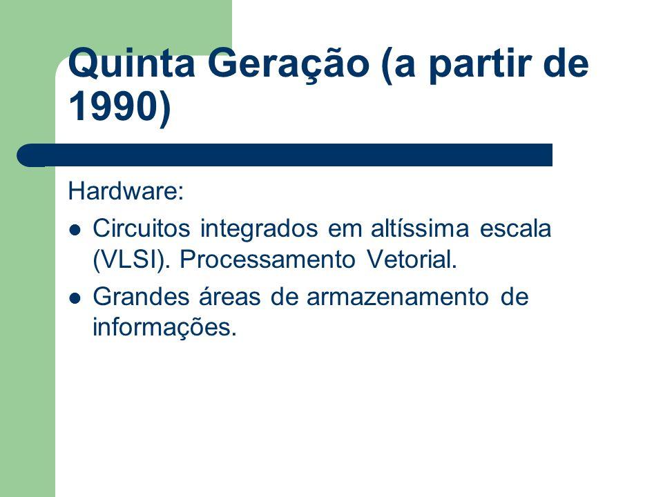 Quinta Geração (a partir de 1990)