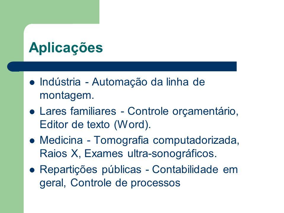Aplicações Indústria - Automação da linha de montagem.