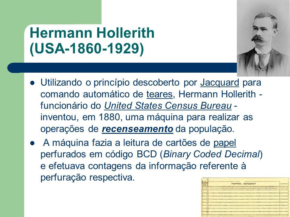 Hermann Hollerith (USA-1860-1929)