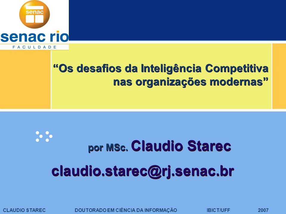 Os desafios da Inteligência Competitiva nas organizações modernas