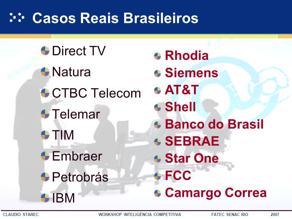 Casos Reais Brasileiros