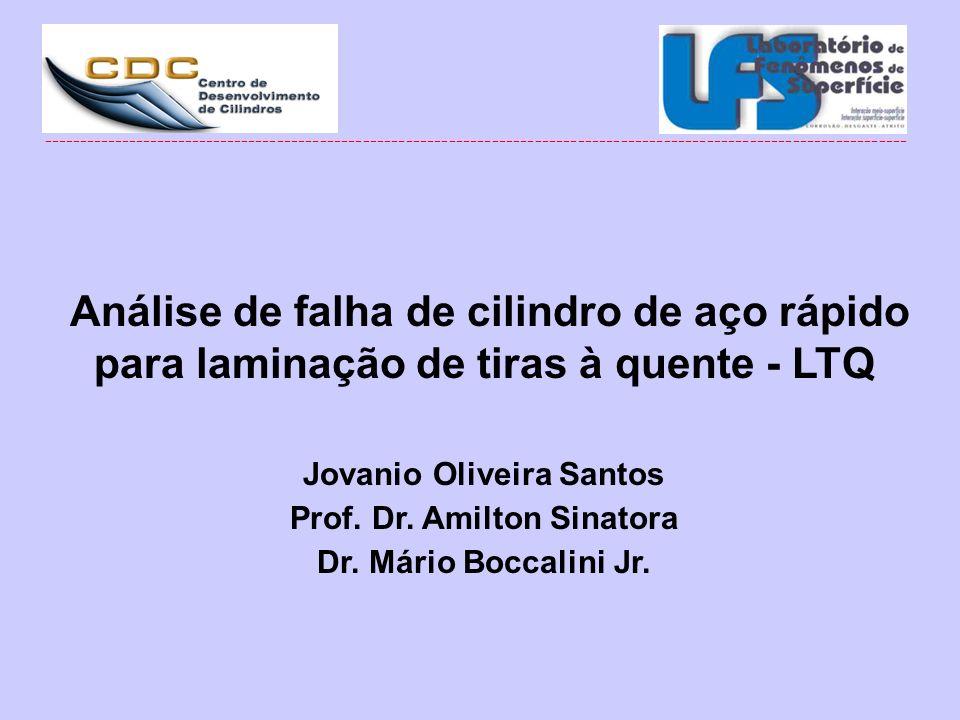 Jovanio Oliveira Santos Prof. Dr. Amilton Sinatora