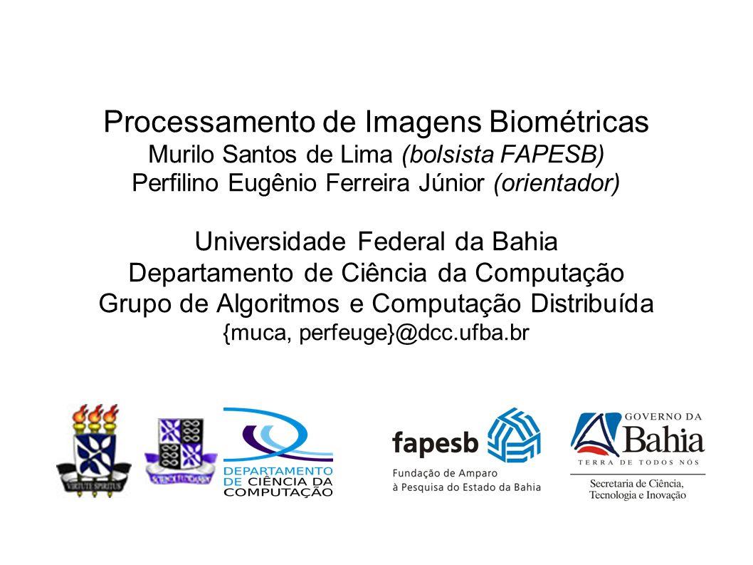 Processamento de Imagens Biométricas