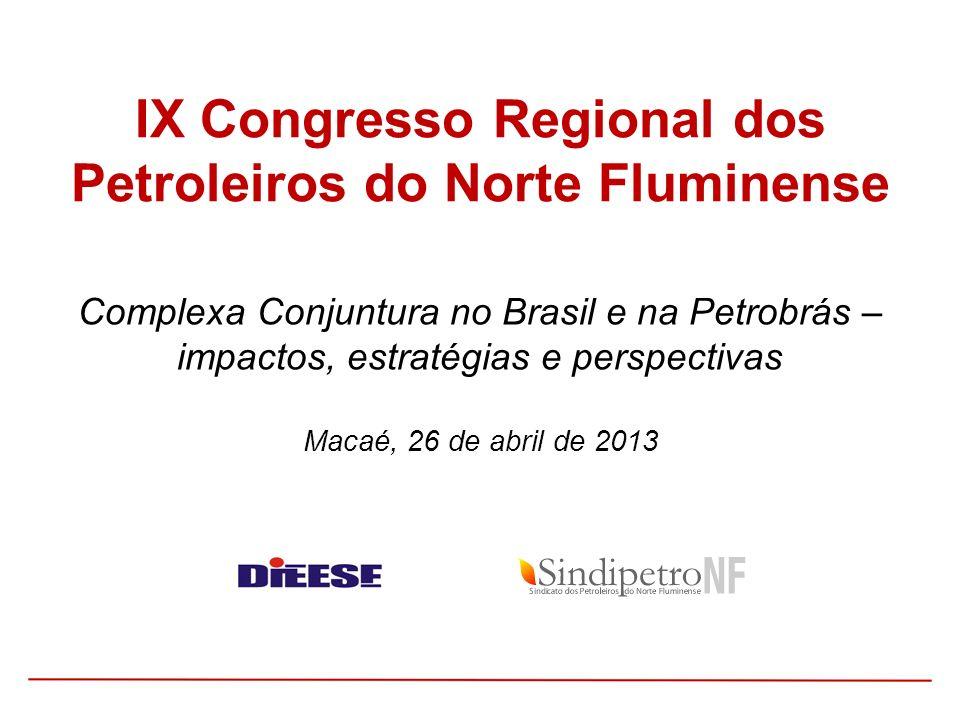 IX Congresso Regional dos Petroleiros do Norte Fluminense