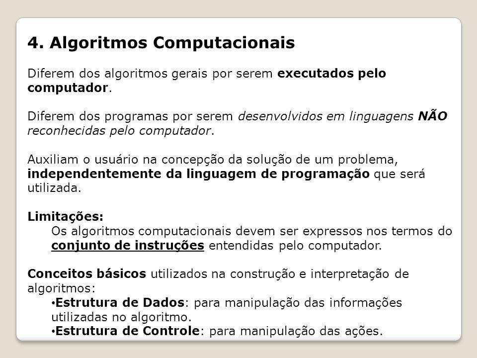 4. Algoritmos Computacionais