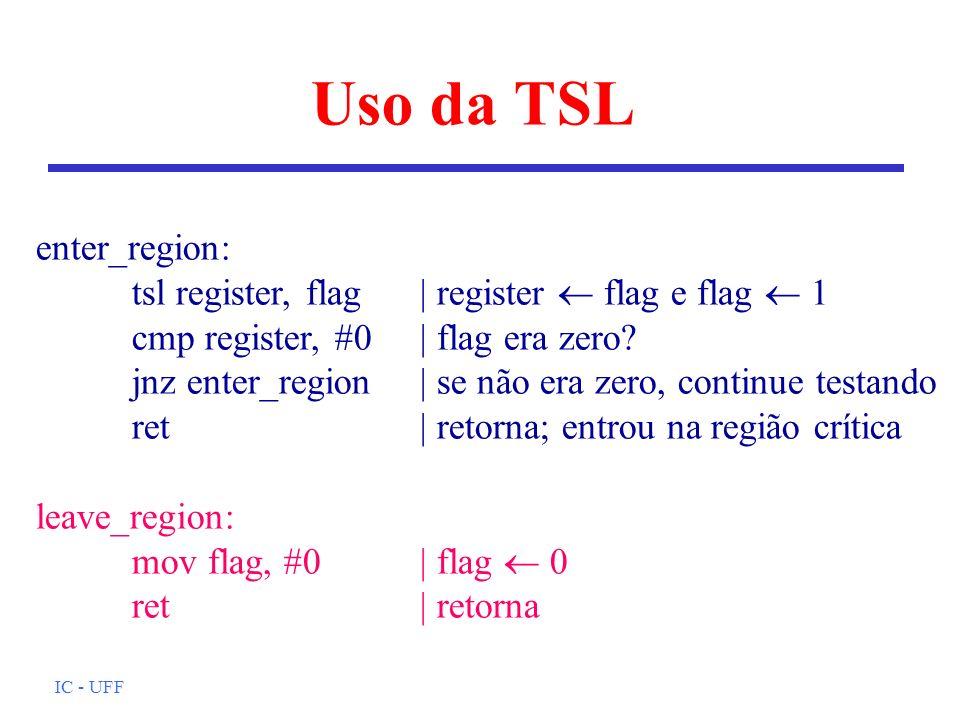 Uso da TSL enter_region: