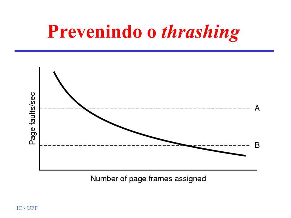 Prevenindo o thrashing