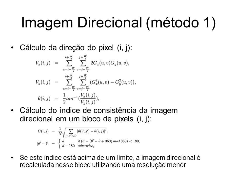 Imagem Direcional (método 1)