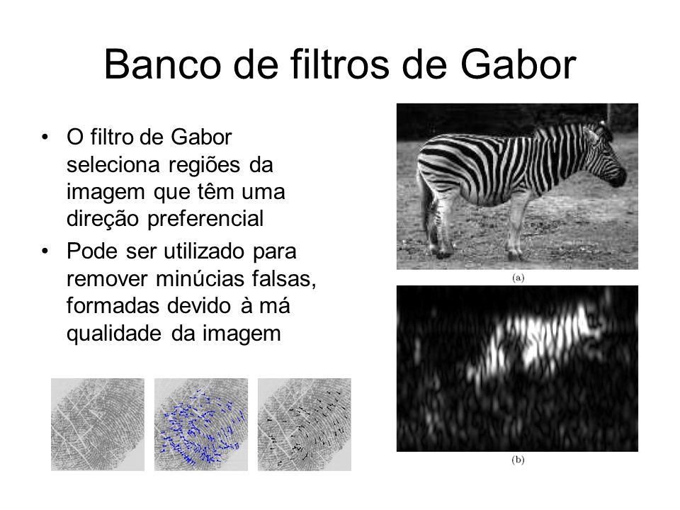 Banco de filtros de Gabor