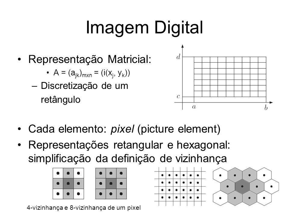 Imagem Digital Representação Matricial: