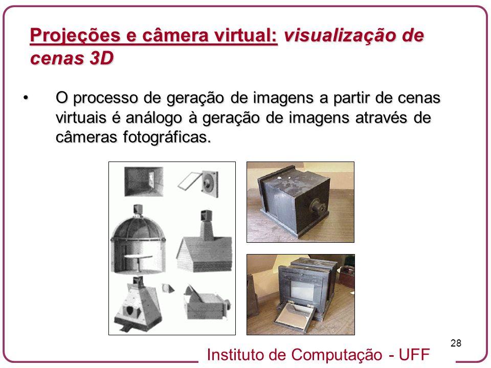 Projeções e câmera virtual: visualização de cenas 3D