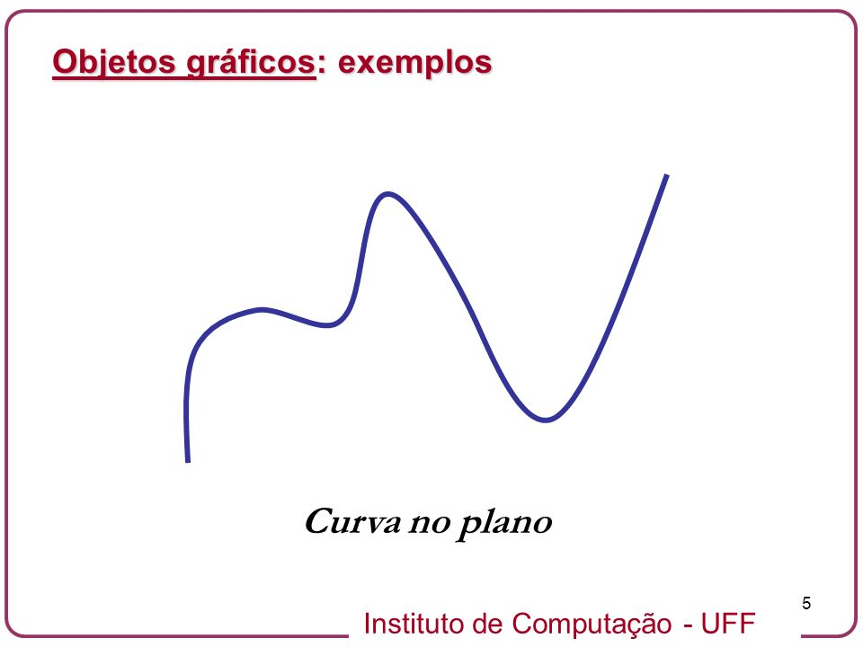 Objetos gráficos: exemplos