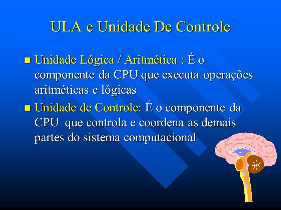 ULA e Unidade De Controle