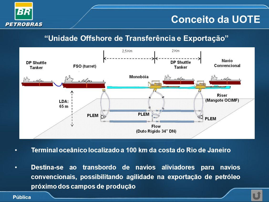 Unidade Offshore de Transferência e Exportação