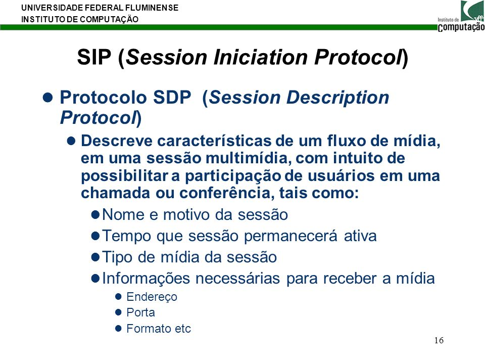 SIP (Session Iniciation Protocol)