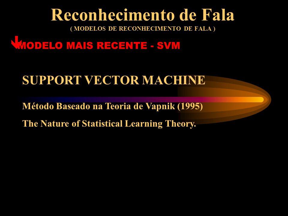 Reconhecimento de Fala ( MODELOS DE RECONHECIMENTO DE FALA )