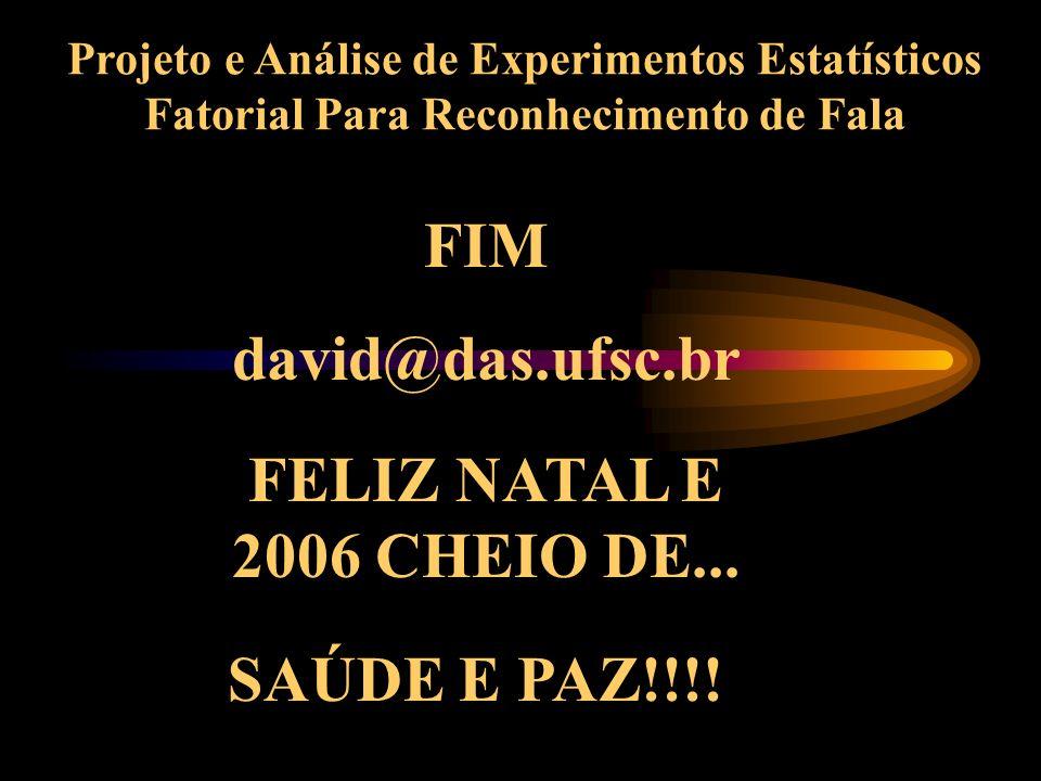 FIM david@das.ufsc.br FELIZ NATAL E 2006 CHEIO DE...