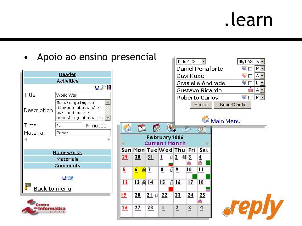 .learn Apoio ao ensino presencial