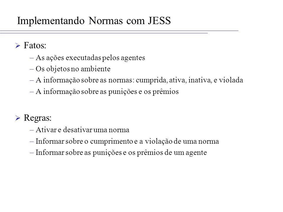Implementando Normas com JESS