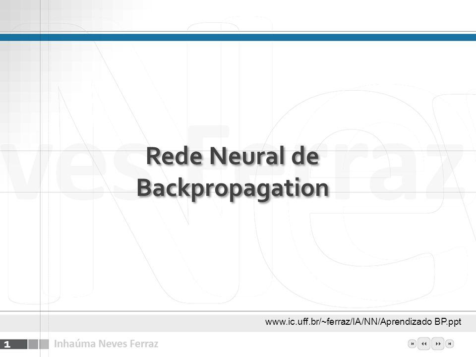 Rede Neural de Backpropagation